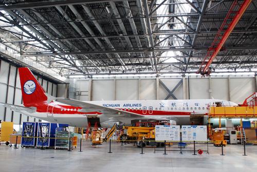 空客A320系列飞机天津总装线项目